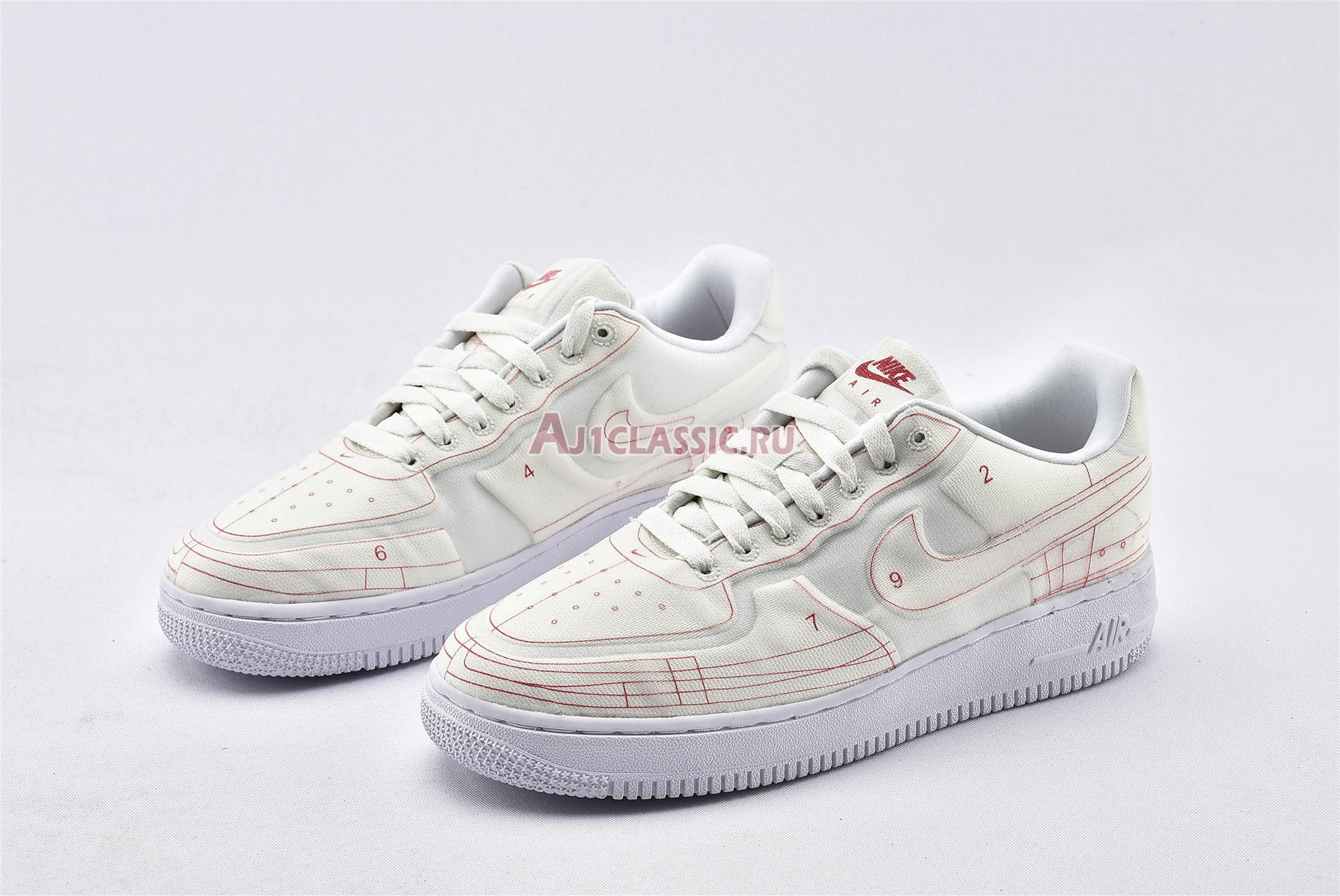 """Nike Wmns Air Force 1 07 Low LX """"Summit White"""" CI3445-100"""