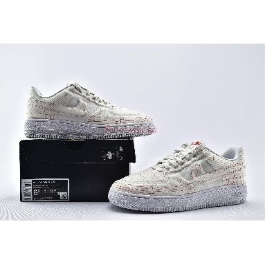Nike Wmns Air Force 1 07 Low LX Summit White CI3445-100 Summit White/Summit White-University Red Sneakers
