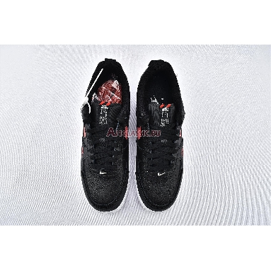 Nike Air Force 1 Low LV8 Utility Bred CW7579-001 Black/University Red-White Sneakers