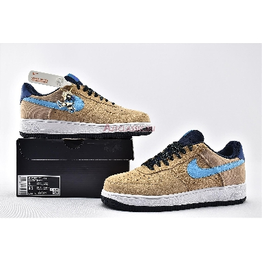 Nike Air Force 1 Low Khaki ACG CD0887-201 Khaki/Persian Violet/Bright Teal/Blue Fury Sneakers