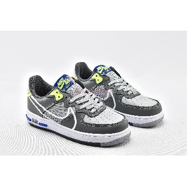 Nike Air Force 1 React Wolf Grey CD4366-002 Wolf Grey/White/Smoke Grey/Dark Grey Sneakers