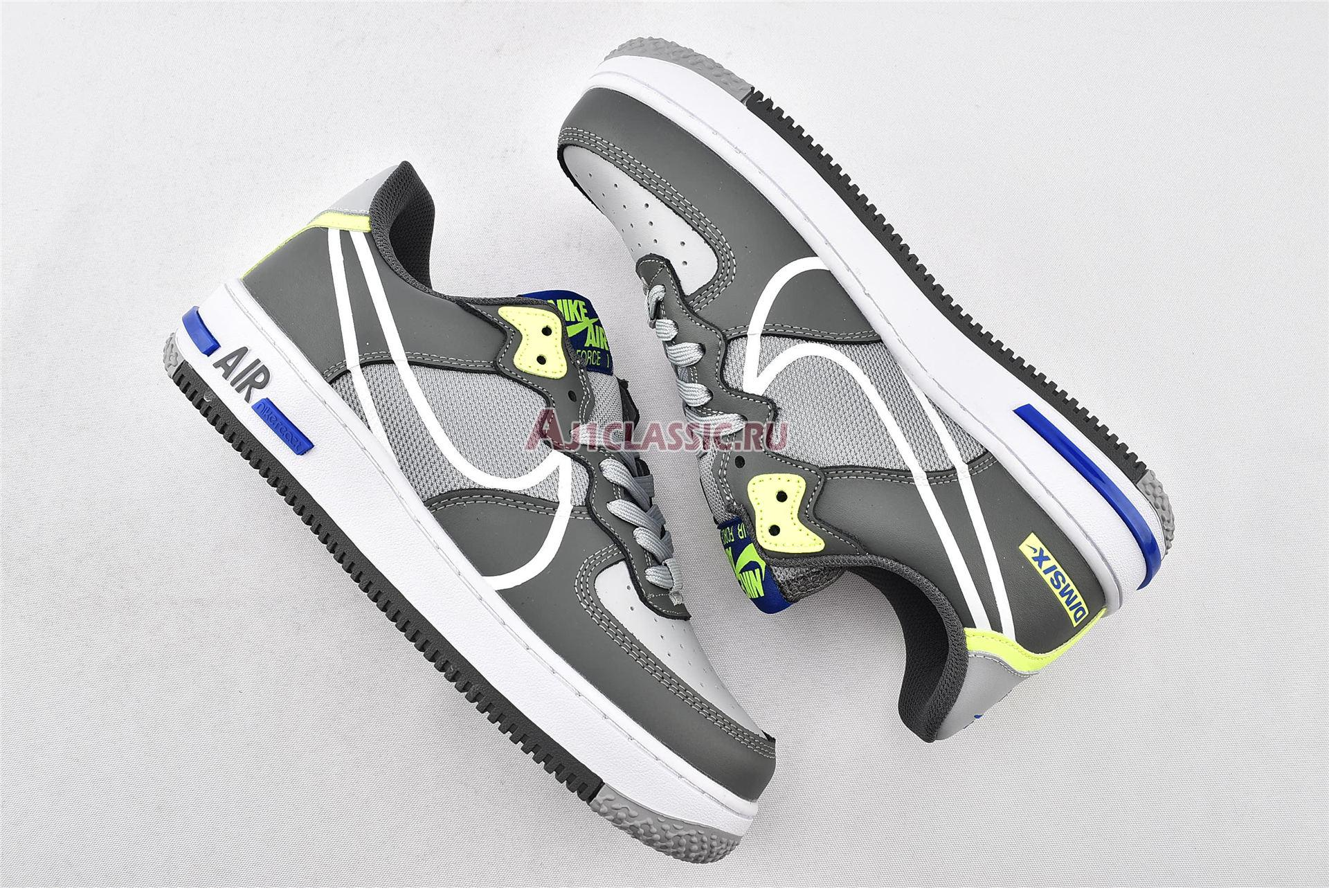 "Nike Air Force 1 React ""Wolf Grey"" CD4366-002"