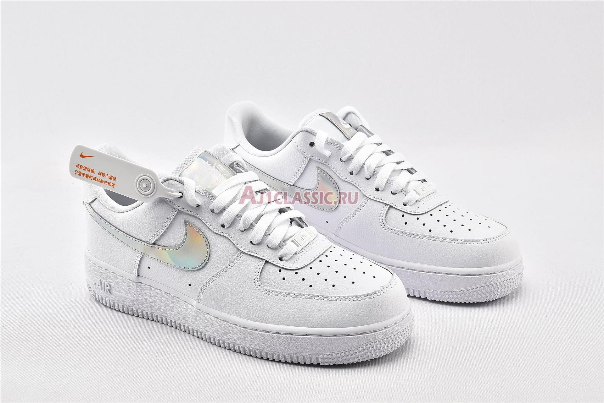 "Nike Air Force 1 Low ""Iridescent Swoosh"" CJ1646-100"