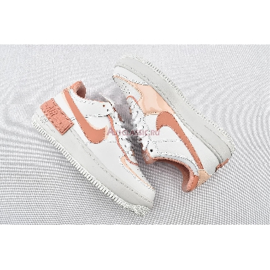 Nike Wmns Air Force 1 Shadow Washed Coral CJ1641-101 Summit White/Washed Coral/Summit White/Pink Quartz Sneakers