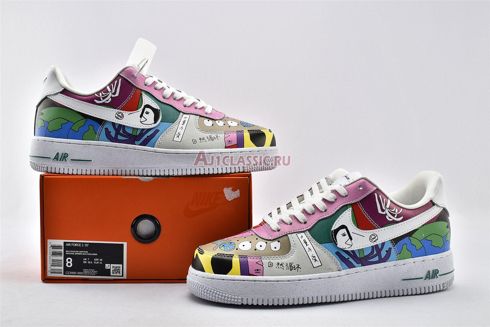 Ruohan Wang x Nike Air Force 1 Flyleather CZ3990-900