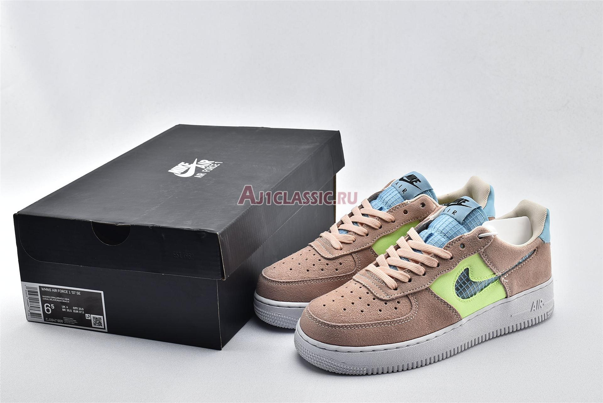 """Nike Air Force 1 Low """"Cut Out Pink"""" CJ1647-600"""