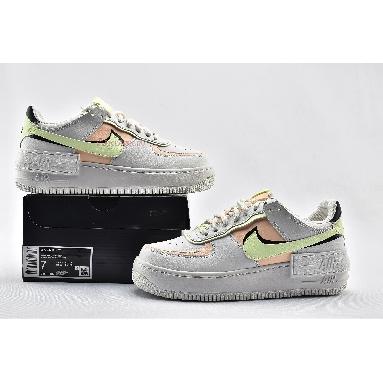Nike Wmns Air Force 1 Shadow White Crimson Tint CI0919-107 Summit White/Black/Barely Volt/Crimson Tint Sneakers