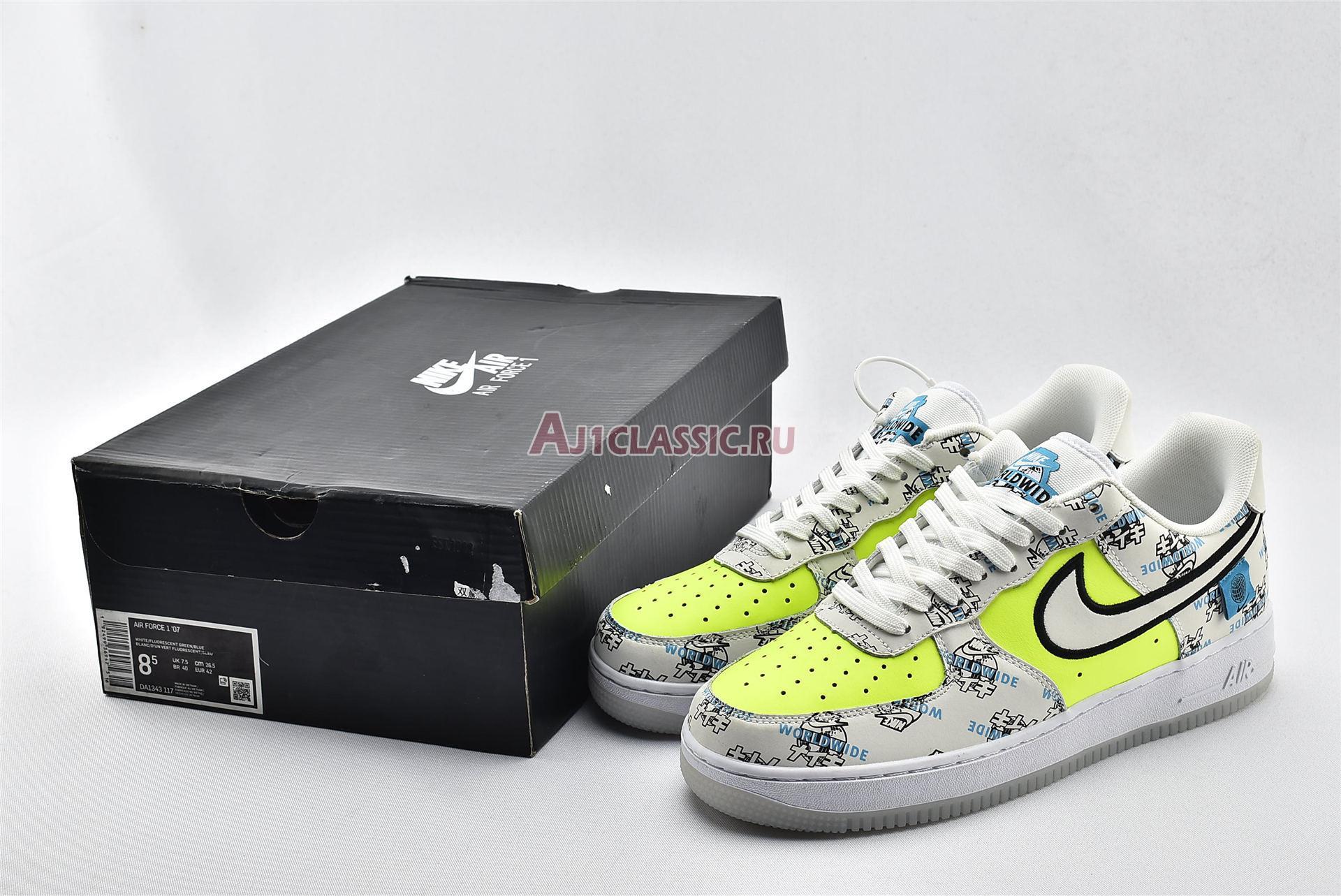 """Nike Air Force 1 Low """"Worldwide Pack"""" DA1343-117"""