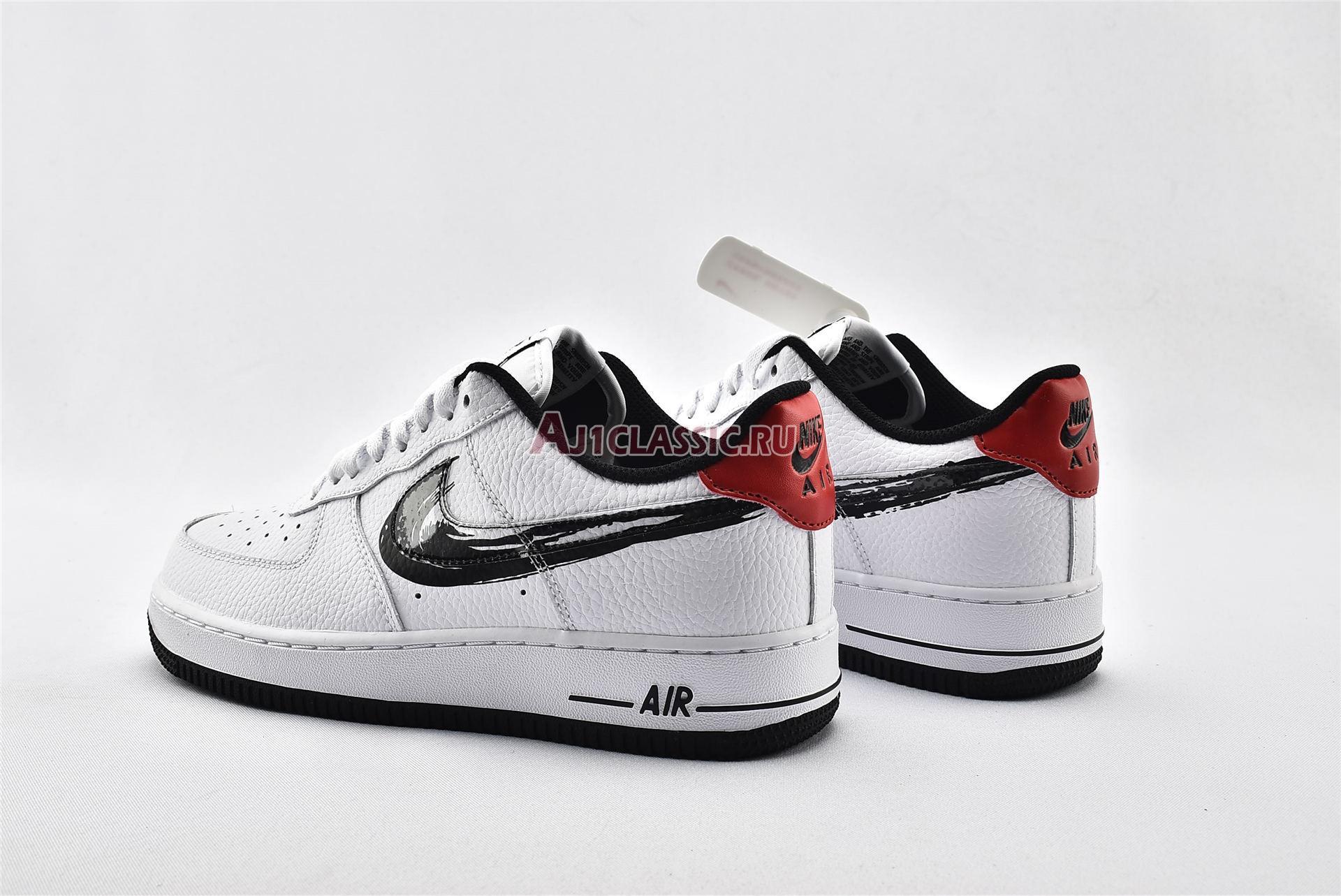 "Nike Air Force 1 Low ""Brushstroke Swoosh - White"" DA4657-100"