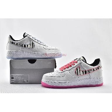 Nike Air Force 1 Low South Korea CW3919-100 White/Black/Multi-Color Sneakers