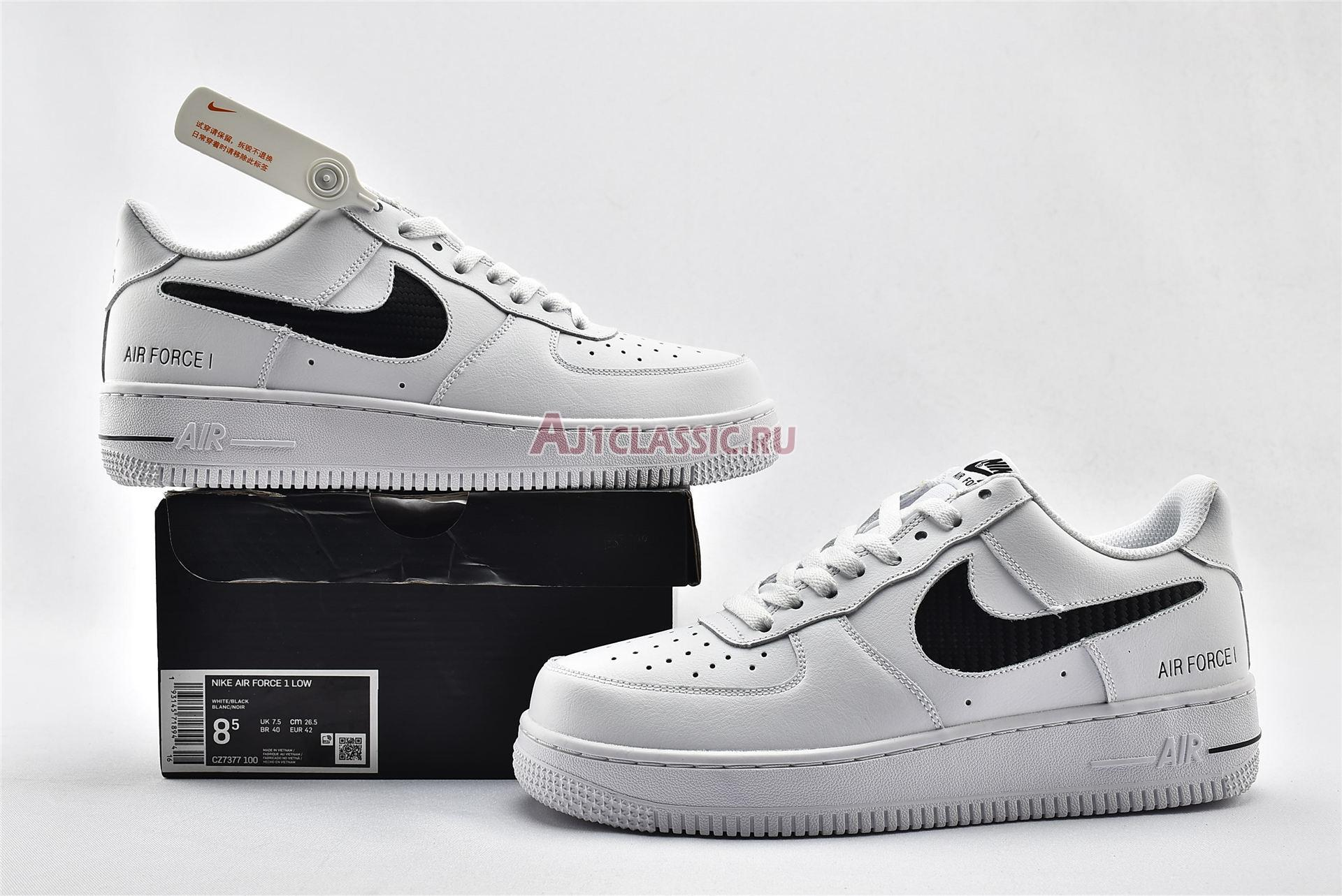 """Nike Air Force 1 Low """"With Cut-Out """" CZ7377-100"""