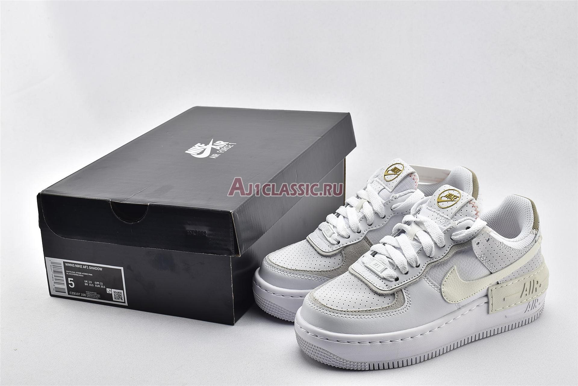 "Nike Wmns Air Force 1 Shadow ""White Atomic Pink"" CZ8107-100"