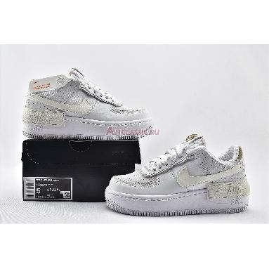 Nike Wmns Air Force 1 Shadow White Atomic Pink CZ8107-100 White/Stone/Atomic Pink/Sail Sneakers