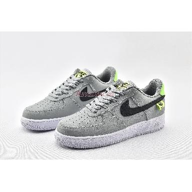 Nike Air Force 1 Low Worldwide CK7648-002 Pure Platinum/Black-Green Strike Sneakers