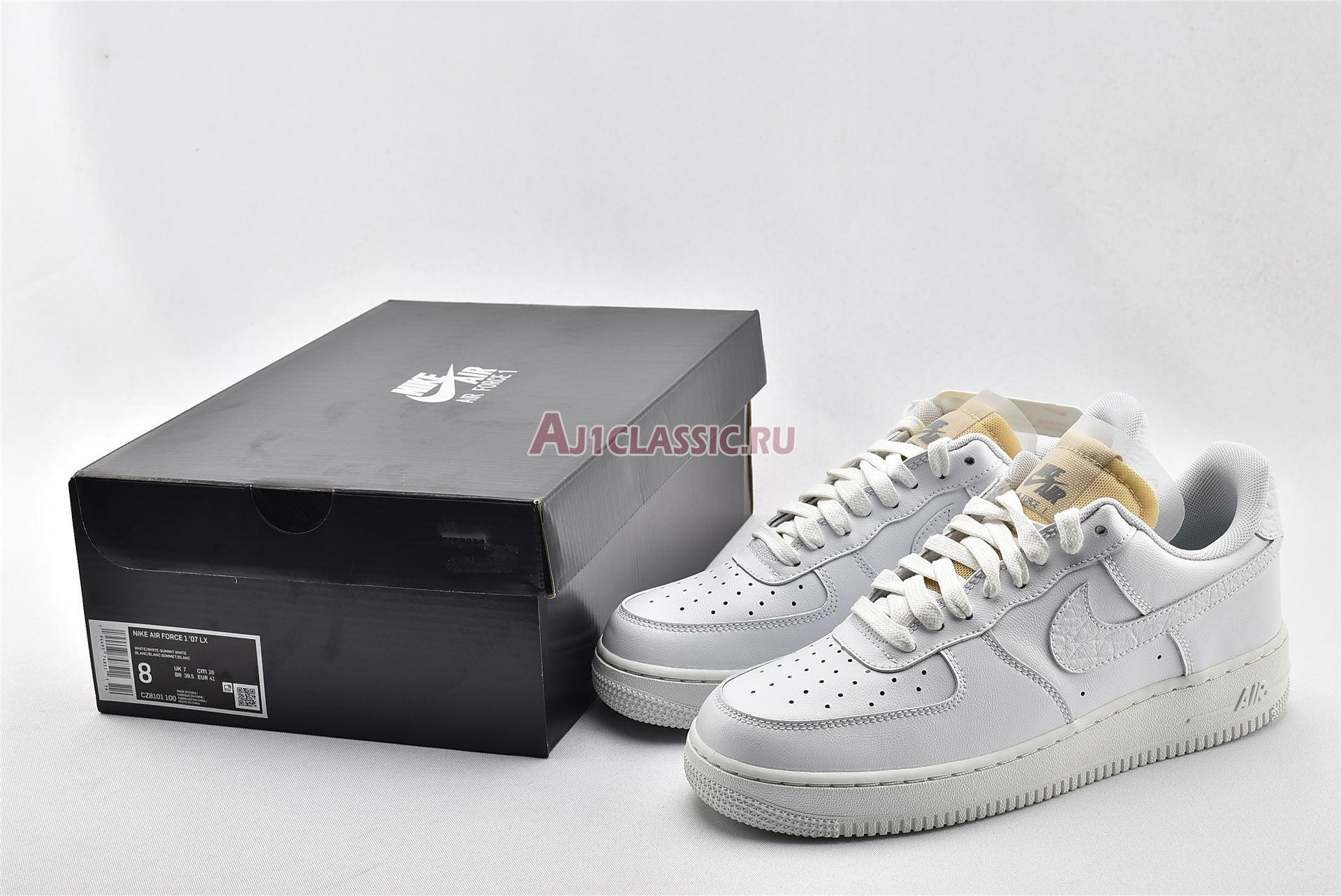 """Nike Air Force 1 Low 07 LX """"Bling"""" CZ8101-100"""