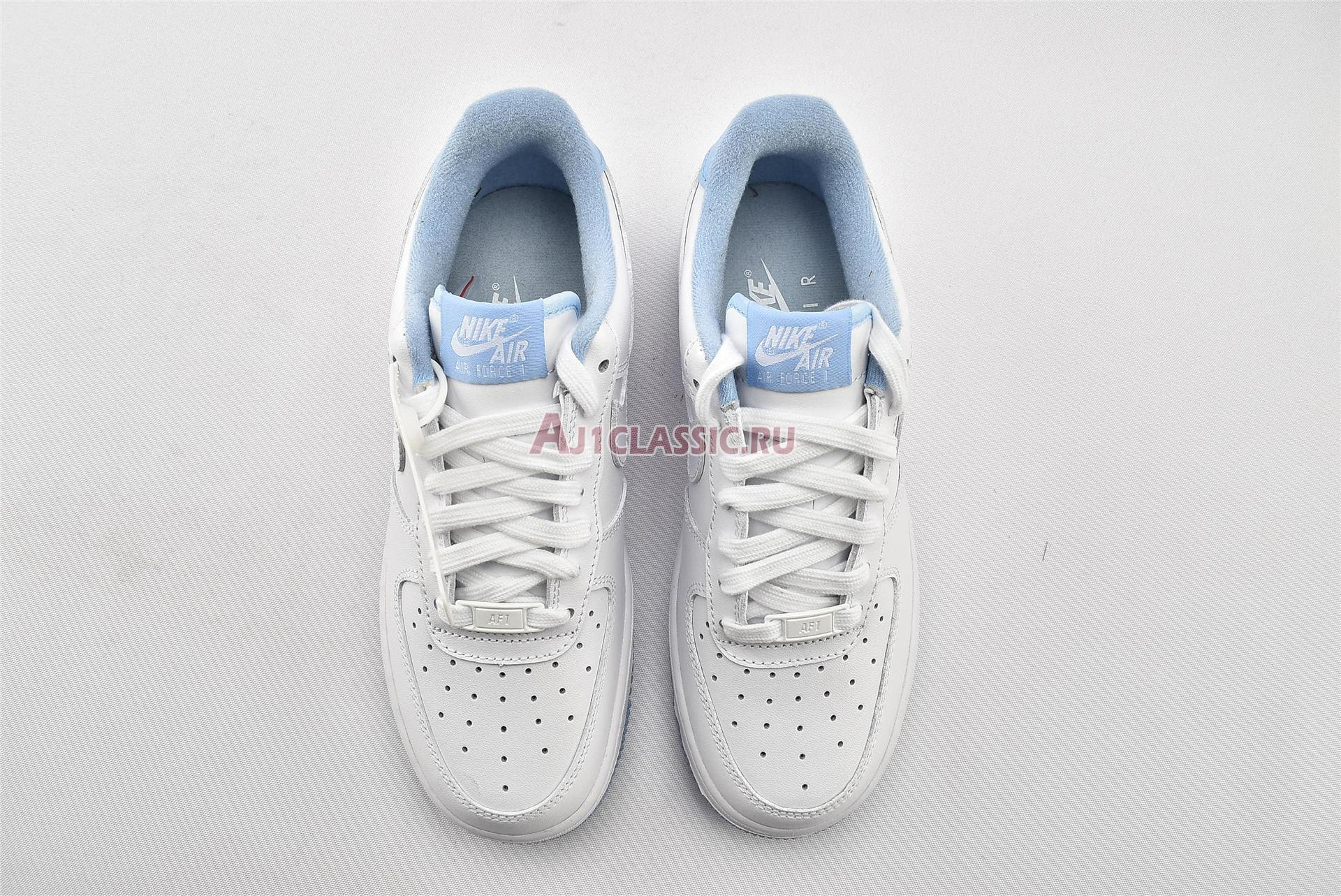 "Nike Air Force 1 GS ""White Hydrogen Blue"" CD6915-103"
