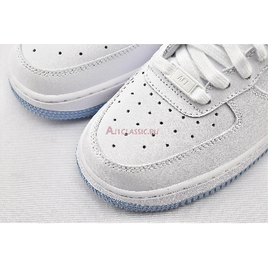 Nike Air Force 1 GS White Hydrogen Blue CD6915-103 White/White/Hydrogen Blue Sneakers