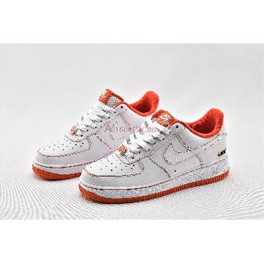 Nike Air Force 1 Low Rucker Park CT2585-100 White/Orange Sneakers