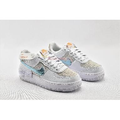Nike Wmns Air Force 1 Shadow White Glacier Ice DA4286-100 White/Vast Grey/University Gold/Glacier Ice Sneakers