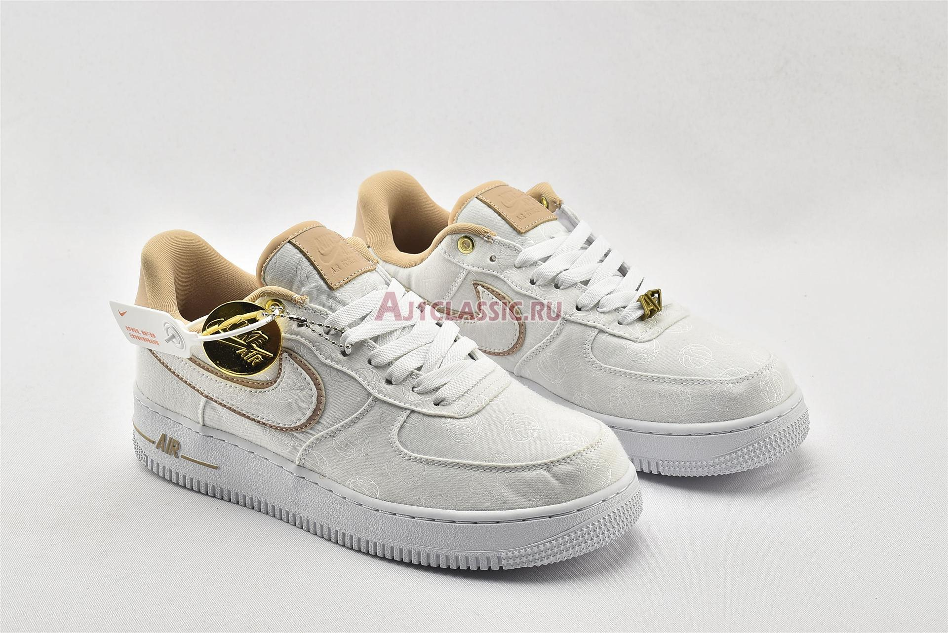 """Nike Air Force 1 Low 07 Lux """"Basketball Print"""" 898889-102"""