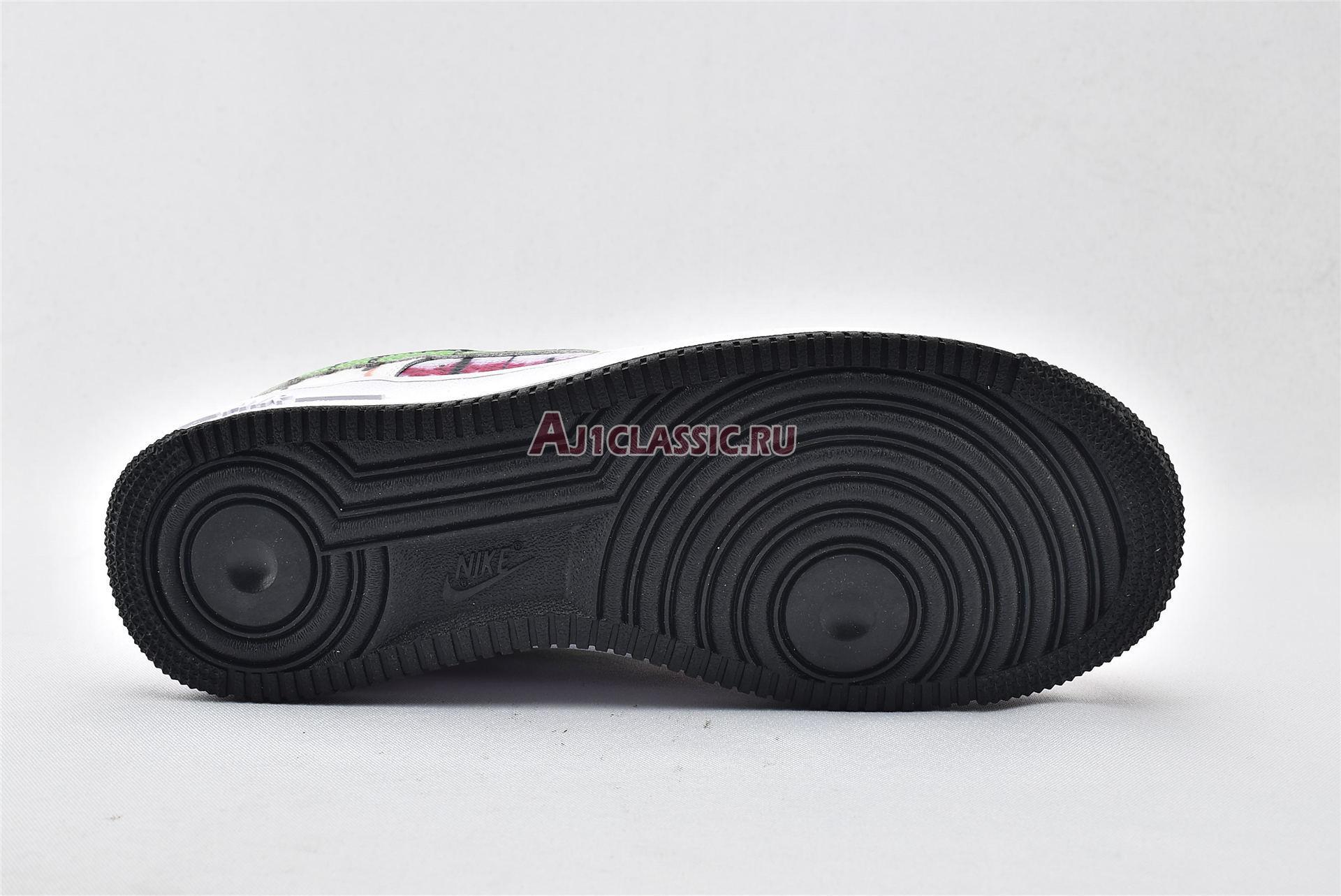 """Nike Air Force 1 Low """"Black Tie Dye"""" CW1267-101"""