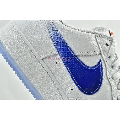 Kith x Nike Air Force 1 Low NYC - White CZ7928-100 White/Rush Blue/White/Brilliant Orange Sneakers