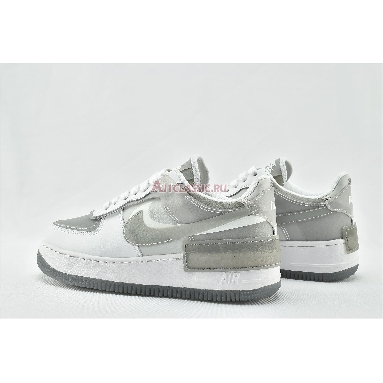 Nike Wmns Air Force 1 Shadow SE Particle Grey CK6561-100 White/Particle Grey-Grey Fog-Photon Dust Sneakers
