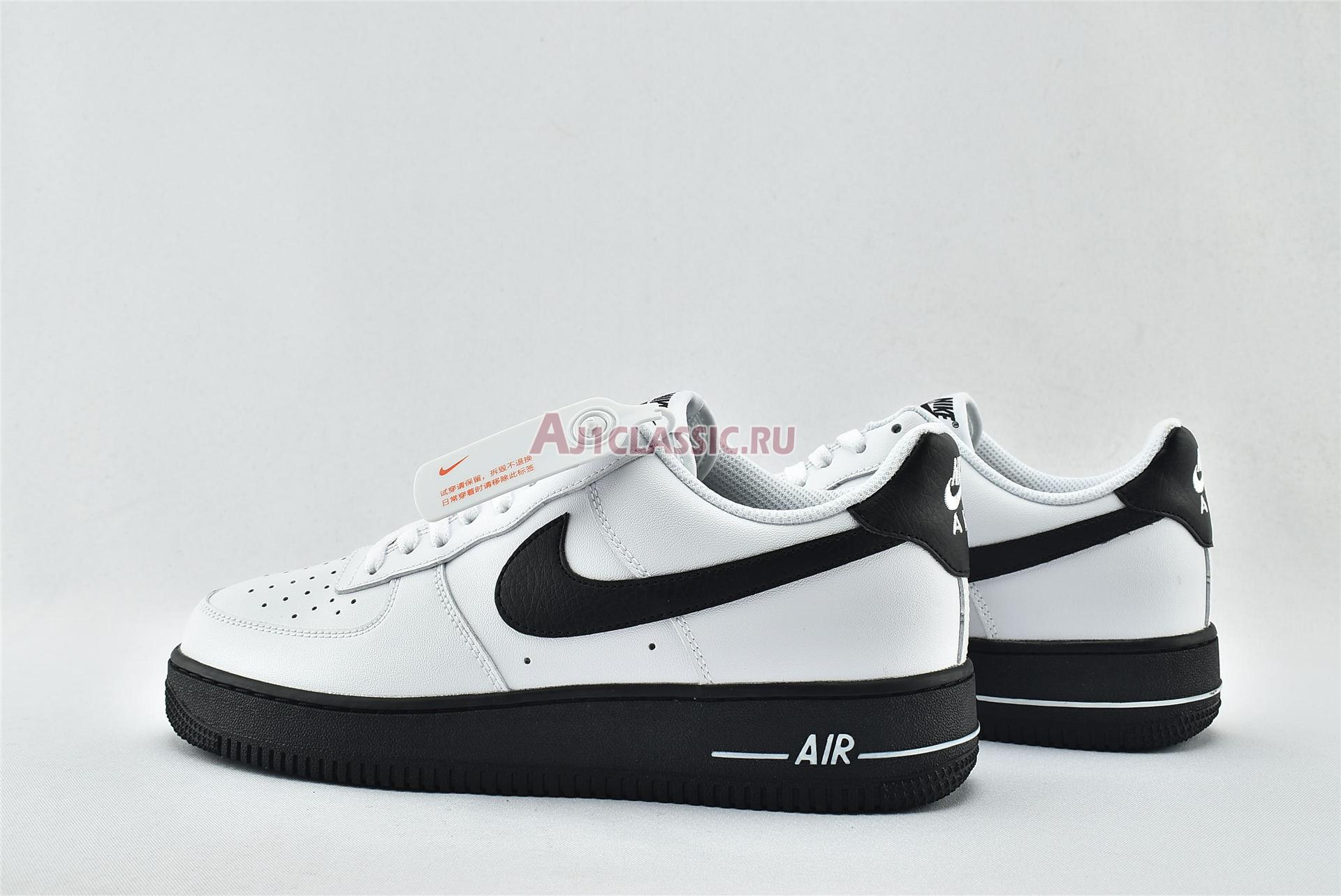 """Nike Air Force 1 Low """"White Black Sole"""" CK7663-101"""