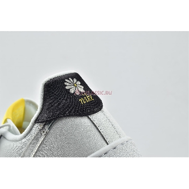 Nike Air Force 1 07 LV8 Daisy Pack CW5571-100 White/Speed Yellow/Pale Ivory/White Sneakers