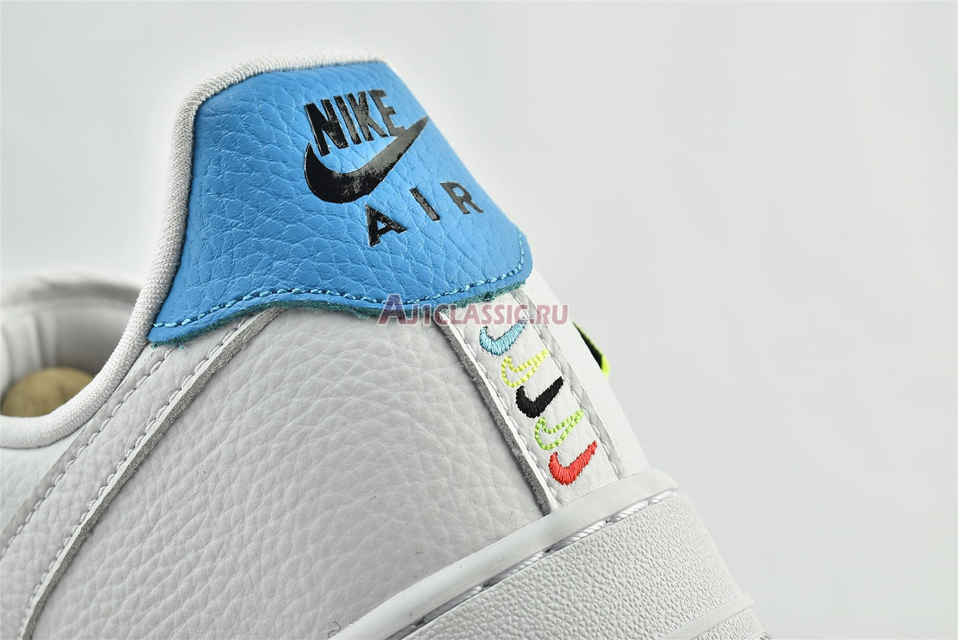 """Nike Air Force 1 07 SE """"Worldwide Pack - Volt"""" CT1414-101"""