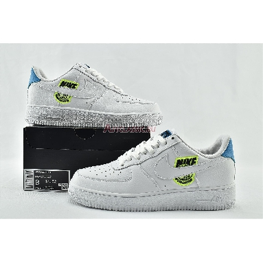 Nike Air Force 1 07 SE Worldwide Pack - Volt CT1414-101 White/Volt/Laser Blue/White Sneakers