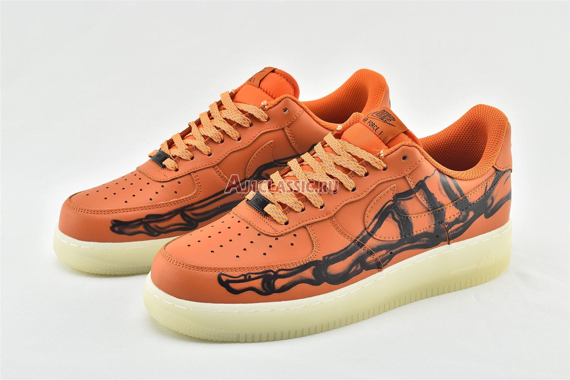 """Nike Air Force 1 Low """"Orange Skeleton"""" CU8067-800"""