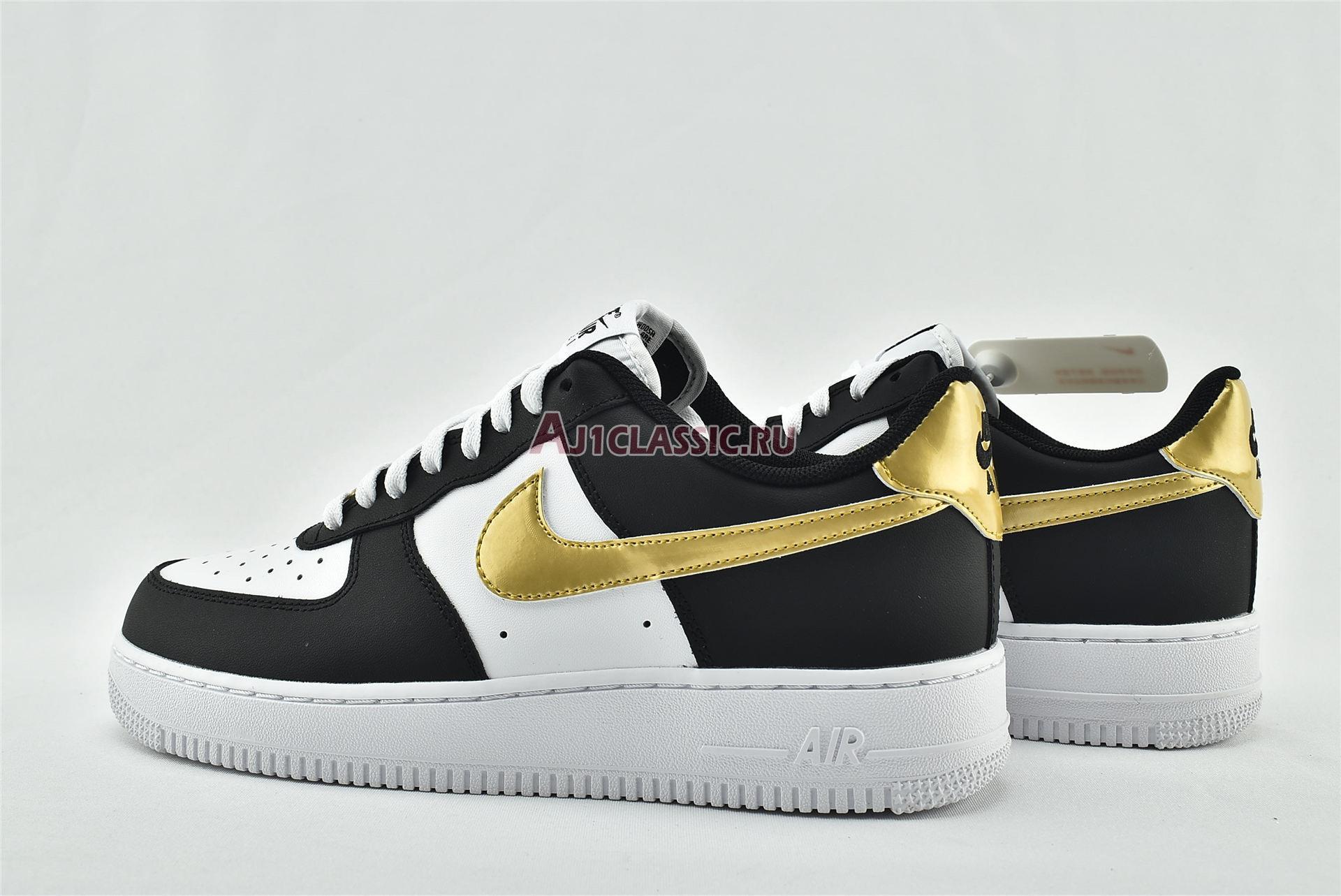 "Nike Air Force 1 07 ""Black Gold"" CZ9189-001"
