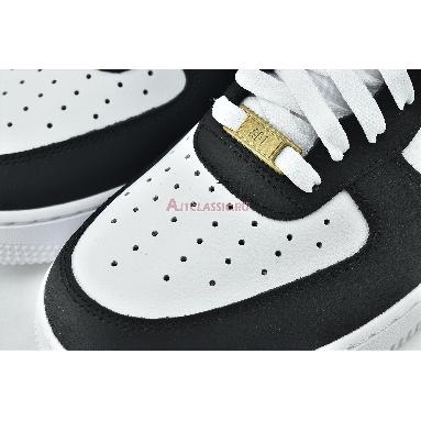 Nike Air Force 1 07 Black Gold CZ9189-001 Black/White/Metallic Gold Sneakers