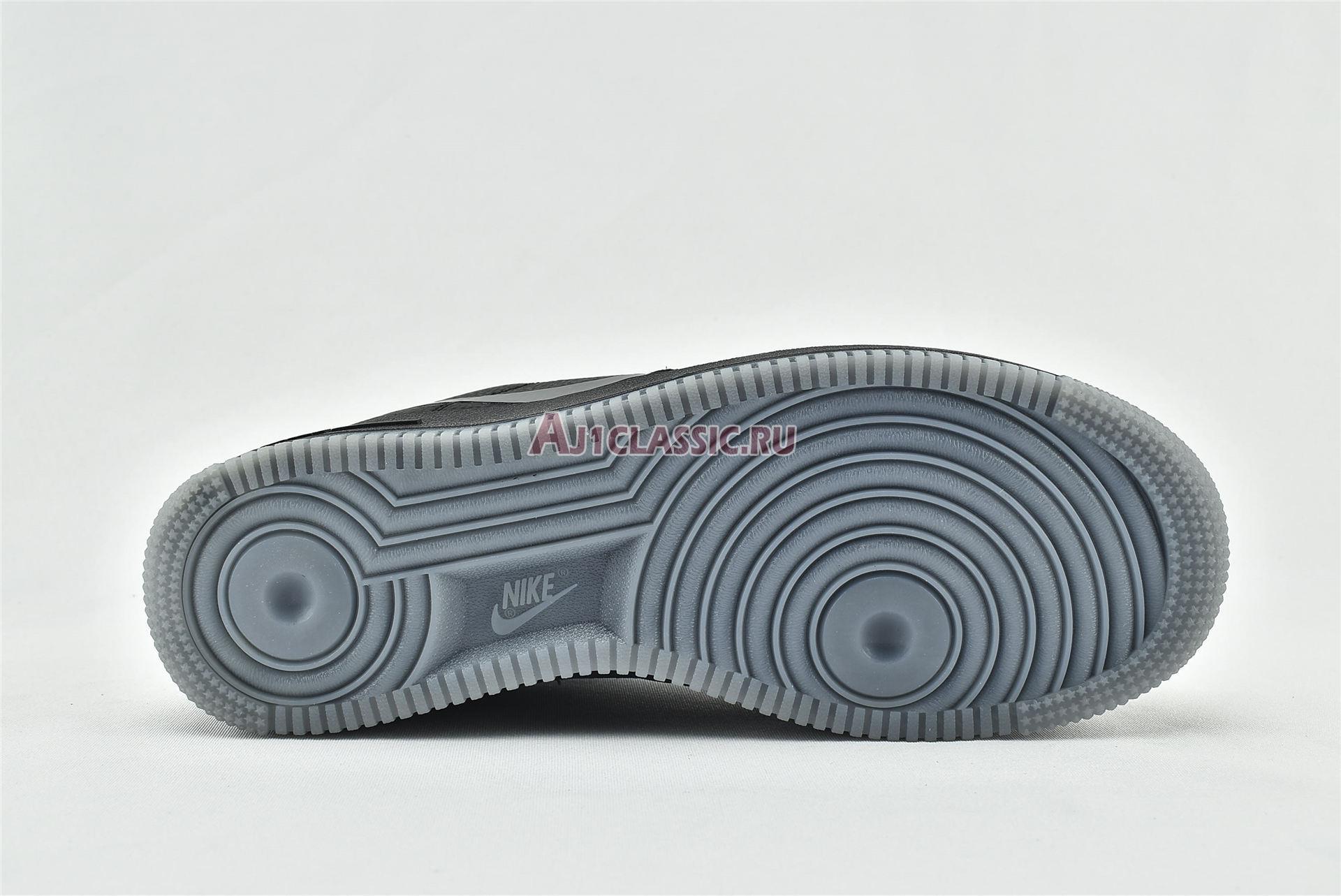 """Nike Air Force 1 Low """"Grey Swoosh"""" CD0888-001"""