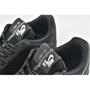 Nike Air Force 1 Low Grey Swoosh CD0888-001 Black/Grey Sneakers
