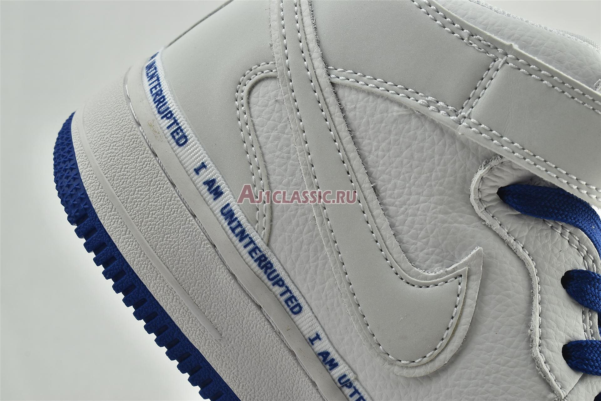 """Uninterrupted x Nike Air Force 1 Mid """"More Than"""" CT1206-600"""