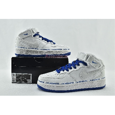 Uninterrupted x Nike Air Force 1 Mid More Than CT1206-600 White/Racer Blue Sneakers