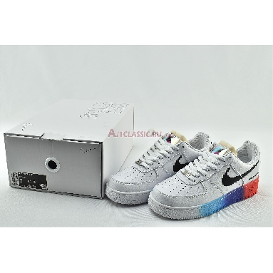 Nike Air Force 1 Low Have A Good Game 318155-113 White/White/Bright Crimson/Black Sneakers