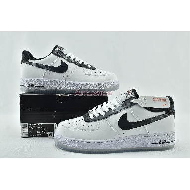 Nike Air Force 1 Low Remix Pack DB1997-100 White/Black-Pure Platinum-Metallic Silver Sneakers