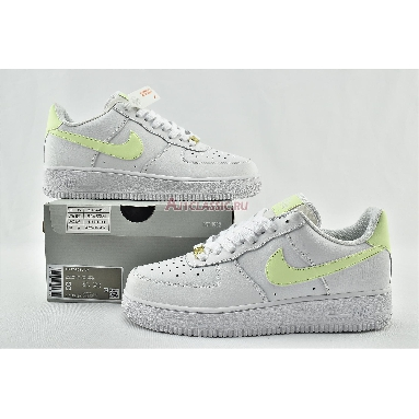 Nike Air Force 1 Low Barely Volt 315115-155 White/fluorescent green-White Sneakers