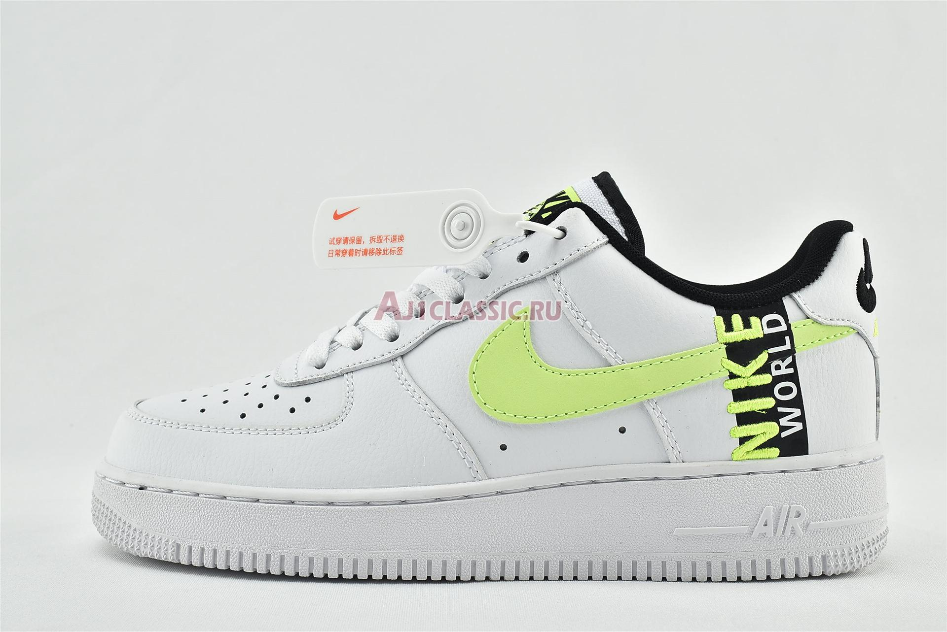 """Nike Air Force 1 LV8 1 """"Worldwide Pack - White Barely Volt"""" CN8536-100"""