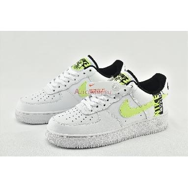 Nike Air Force 1 LV8 1 Worldwide Pack - White Barely Volt CN8536-100 White/Volt/Black/Barely Volt Sneakers