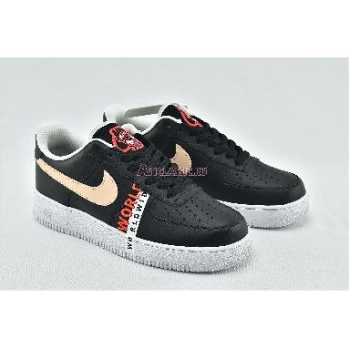 Nike Air Force 1 LV8 1 Worldwide Pack - Black Crimson CN8536-001 Black/Flash Crimson/White/Crimson Tint Sneakers