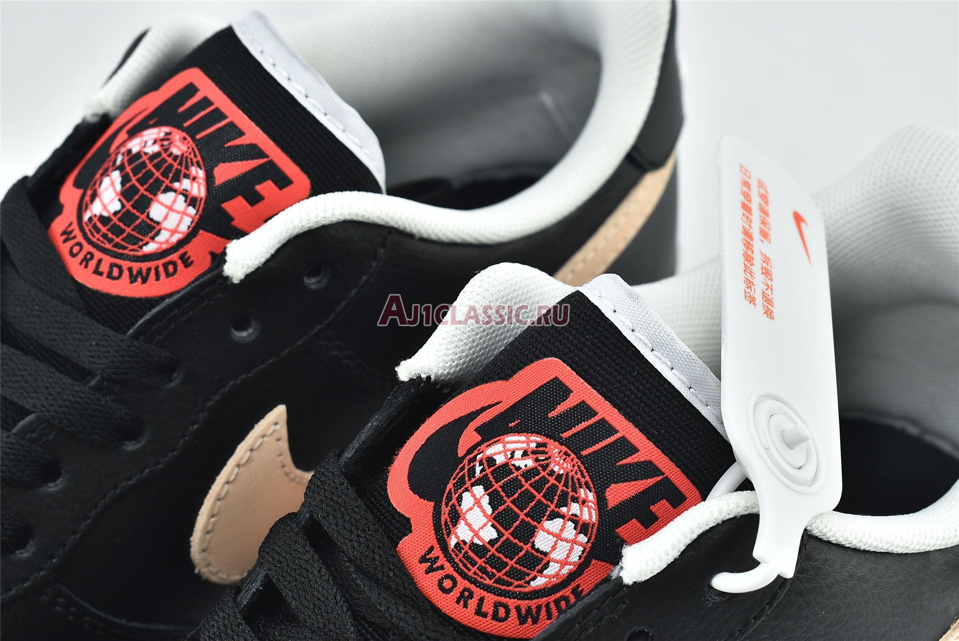 "Nike Air Force 1 LV8 1 ""Worldwide Pack - Black Crimson"" CN8536-001"