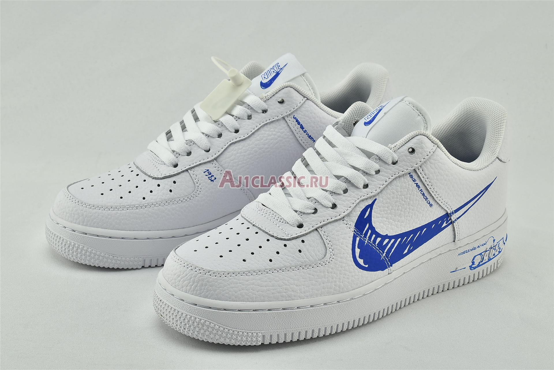 "Nike Air Force 1 Low ""Sketch"" CW7581-100"