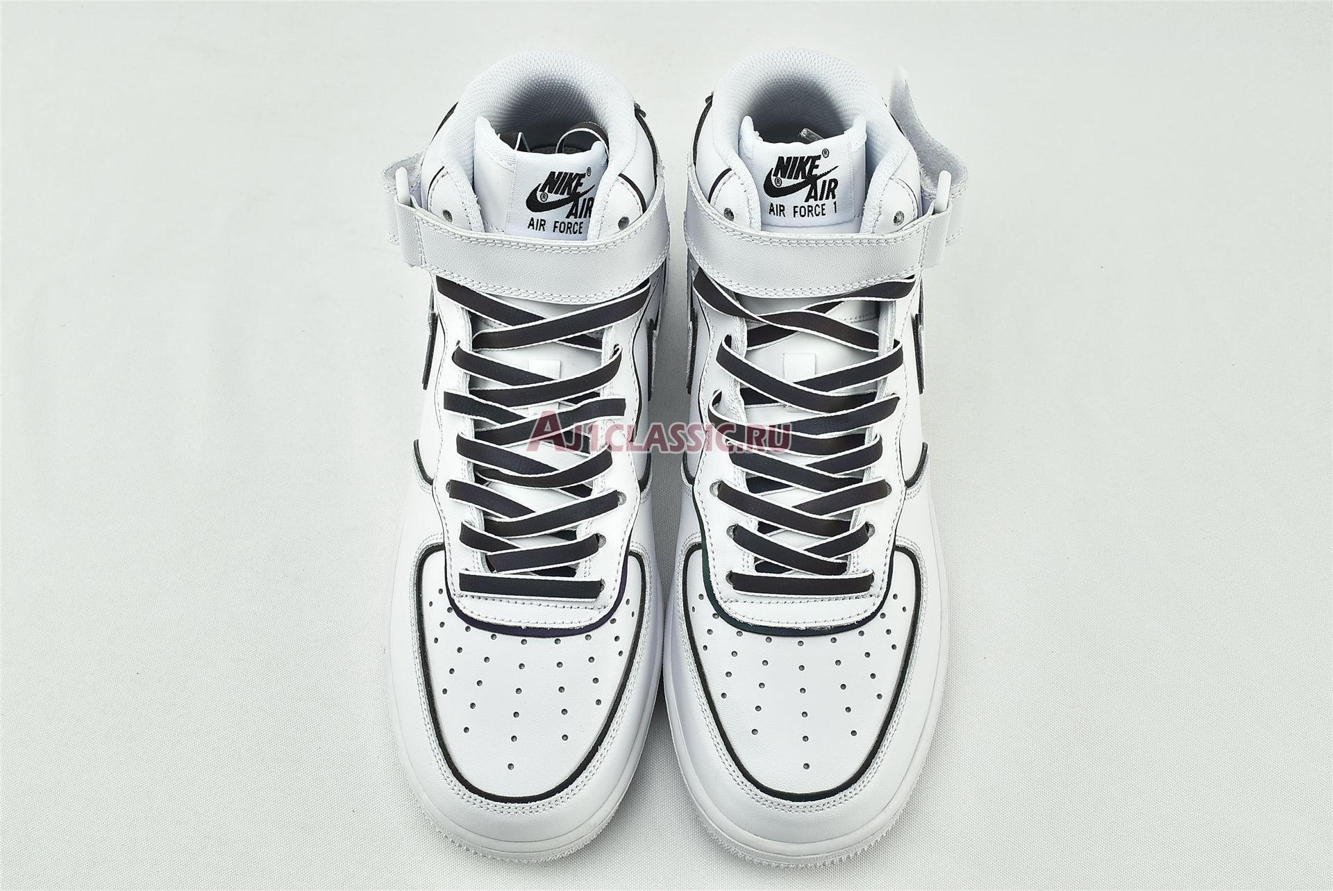"Nike Air Force 1 High ""Iridescent Trim"" 388732-810"