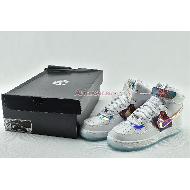 Nike Wmns Air Force 1 High LX Have A Good Game DC2111-191 White/Multi-Color/White Sneakers