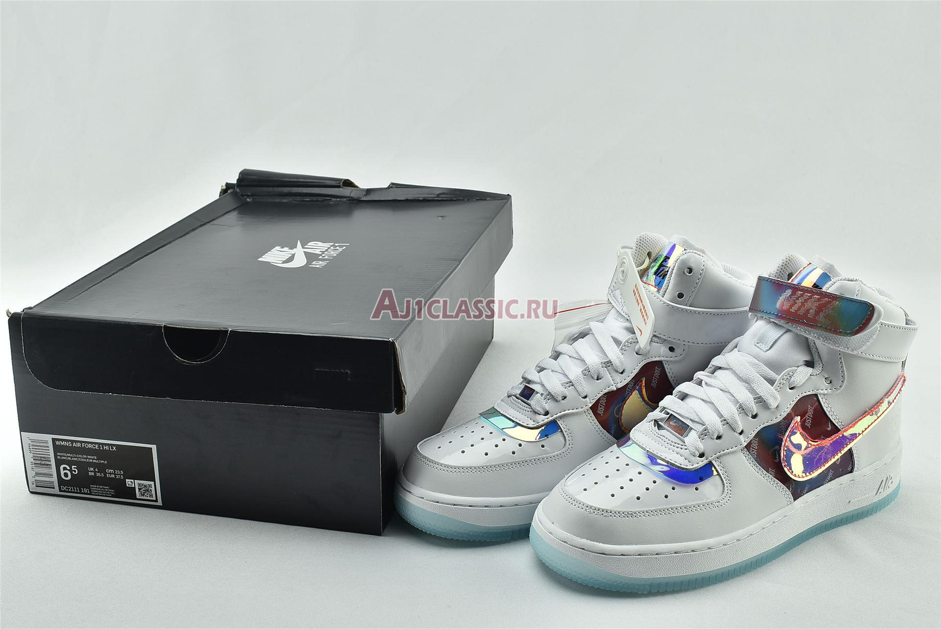 """Nike Wmns Air Force 1 High LX """"Have A Good Game"""" DC2111-191"""