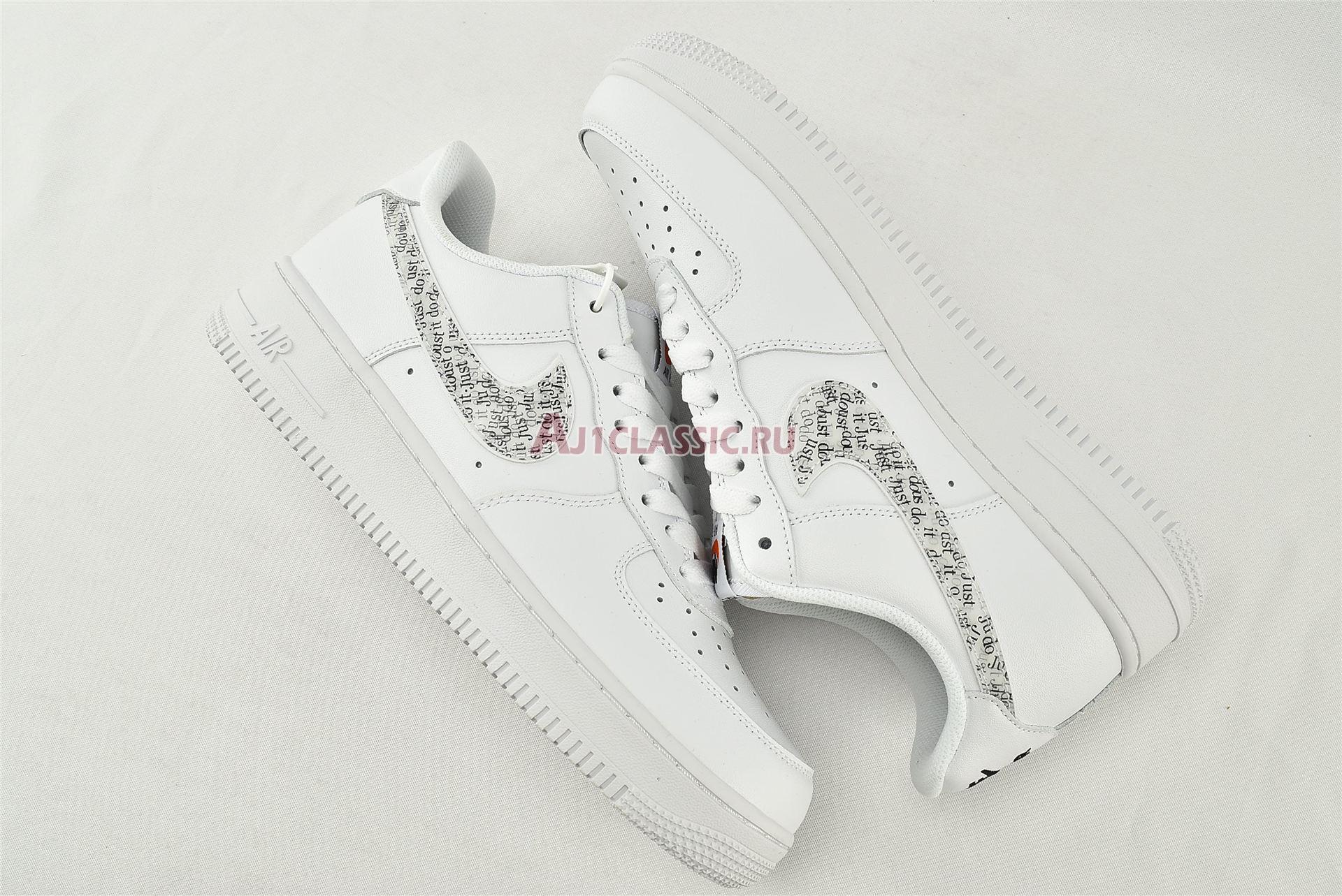 "Nike Air Force 1 07 LV8 ""Just Do It"" BQ5361-100"